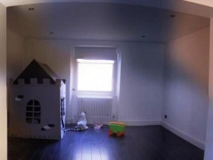 Childrens play room created