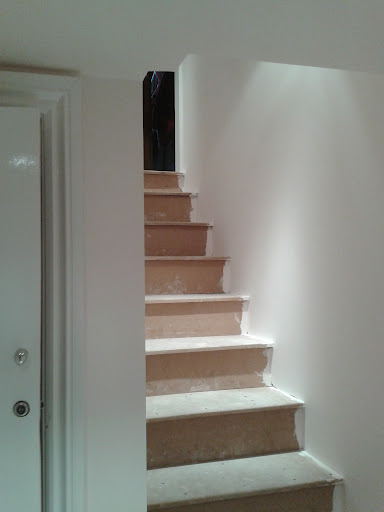 New internal staircase