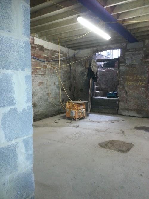 New external door way