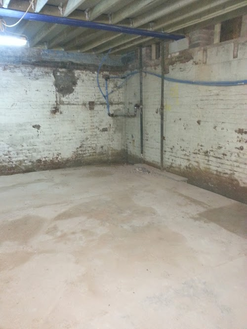 New ground floor installed in old factory, all joists isolated from damp