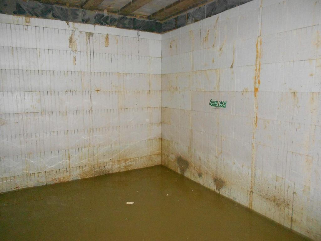 Poor concrete placement causes leaks