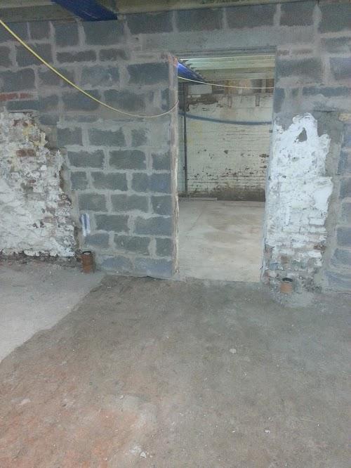 New internal doorways
