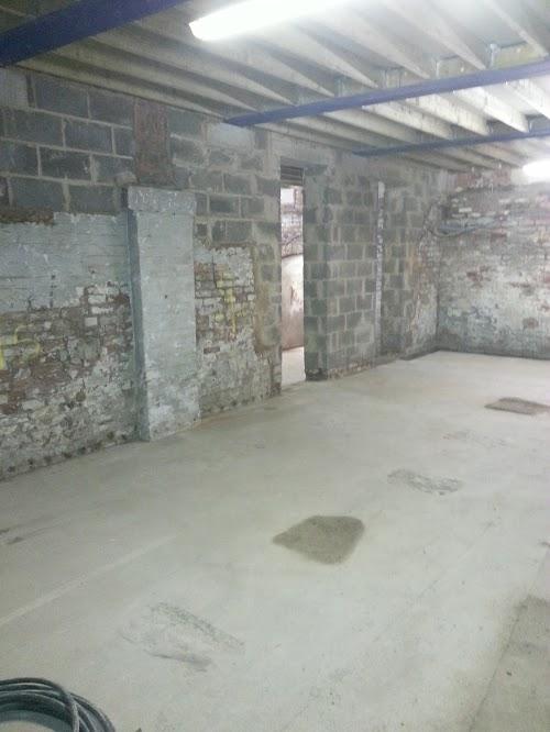 Walls partially rebuilt