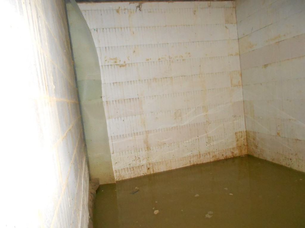 Basement constantly flooded
