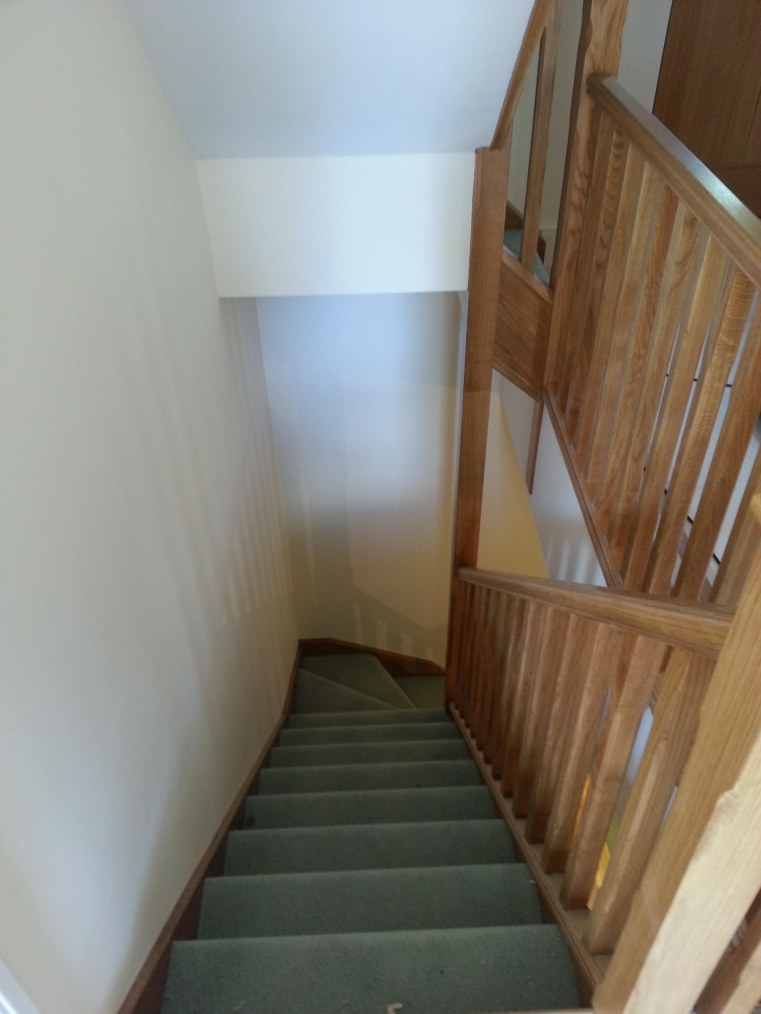 Internal stair case