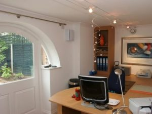 New rear access to office space