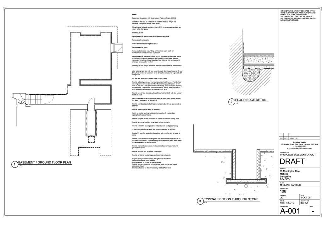 Plans for conversion