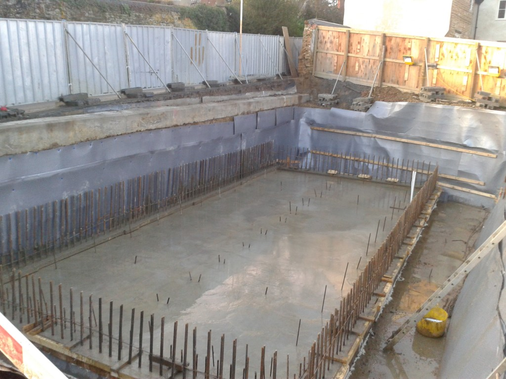 Basement With Piled Foundations