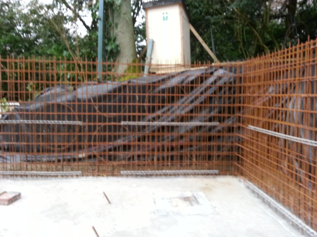 Reinforcing for walls