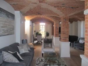 Ceilings blasted back to original brickwork