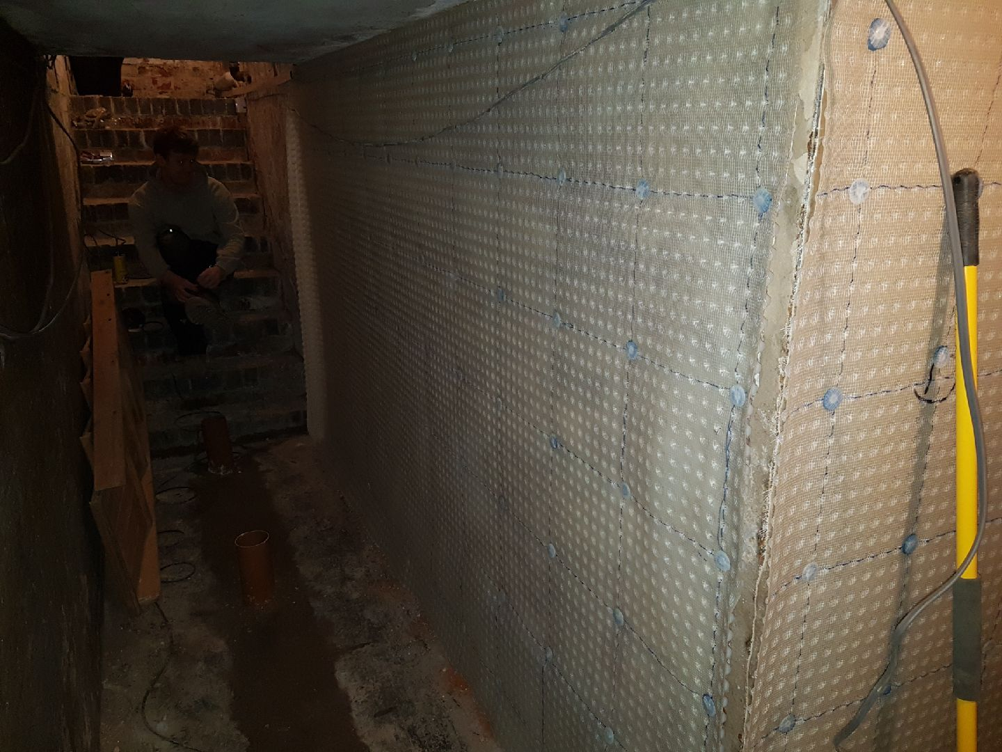 Membranes installed throughout