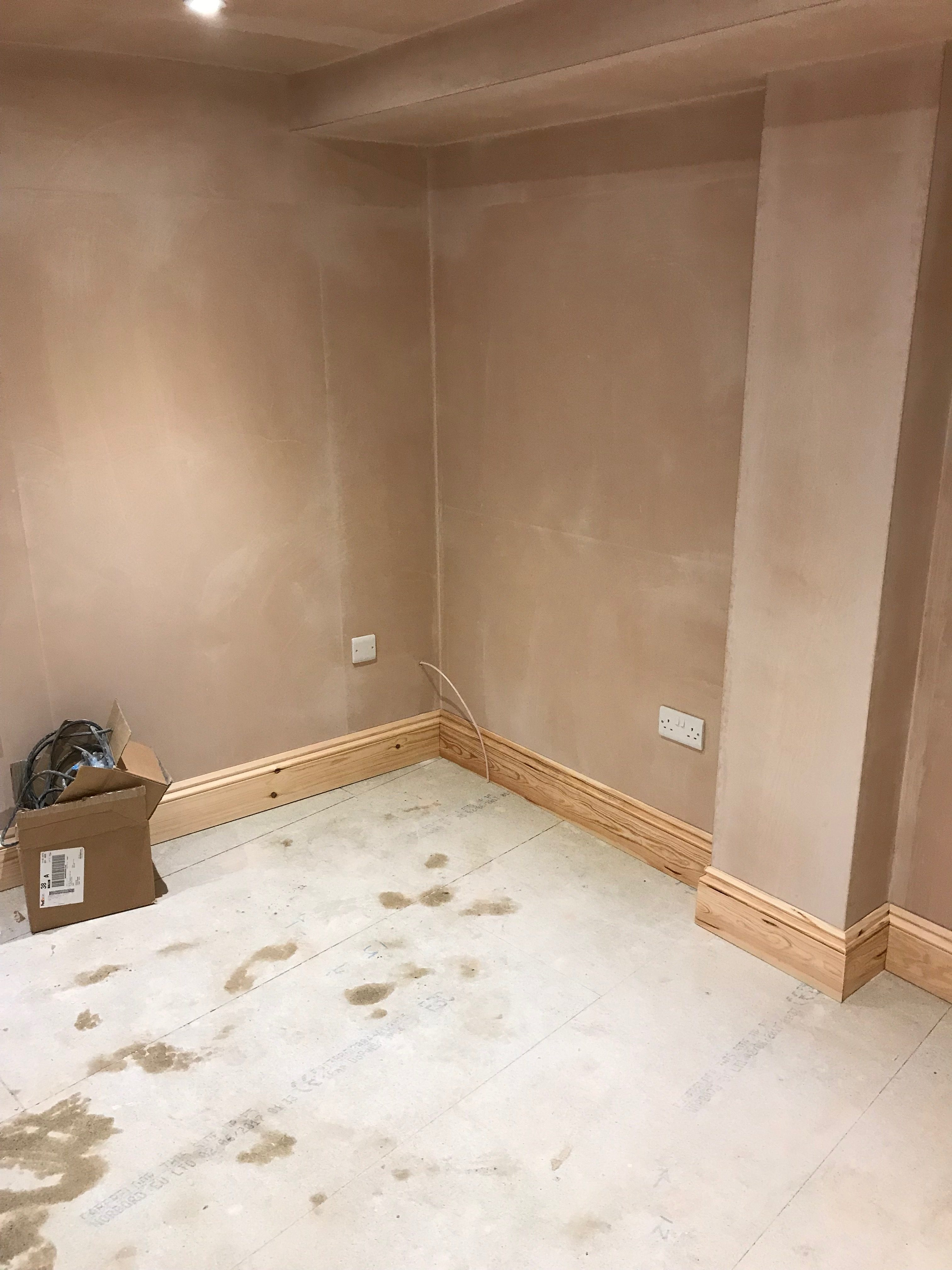 Basement nearing completion