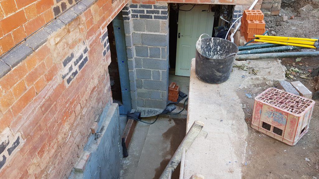 New external stairwell