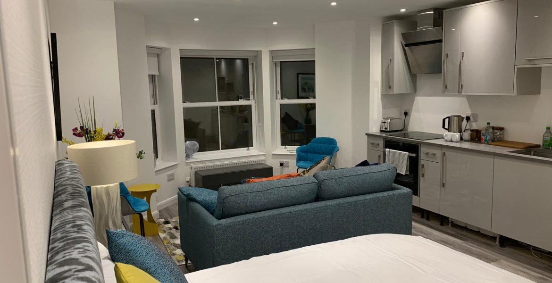 New studio apartment