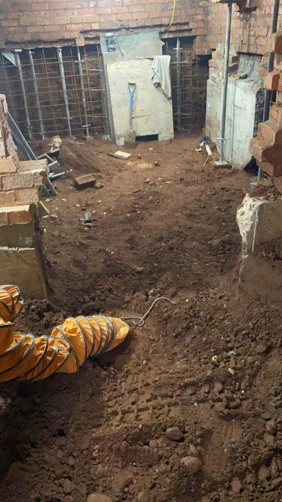 Excavations nearing complettion
